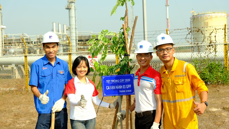 PV GAS phát động phong trào thi đua Xanh – Sạch – Đẹp