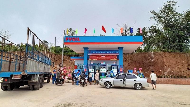 CHXD Sơn Long vừa được khai trương