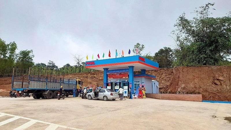 CHXD SƠN LONG tại Km 22+970 thuộc xã Sơn Long, huyện Sơn Hòa, tỉnh Phú Yên.