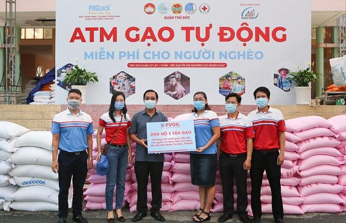 Hỗ trợ gạo cho ATM gạo tự động