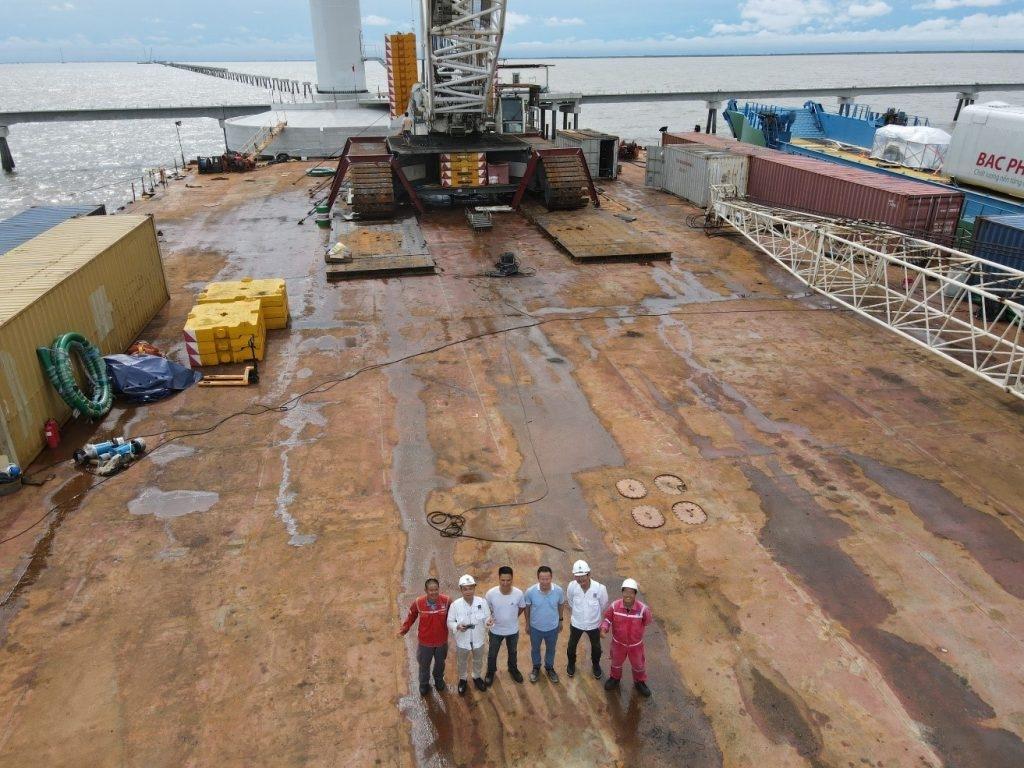ĐTN PVShipyard tại công trường