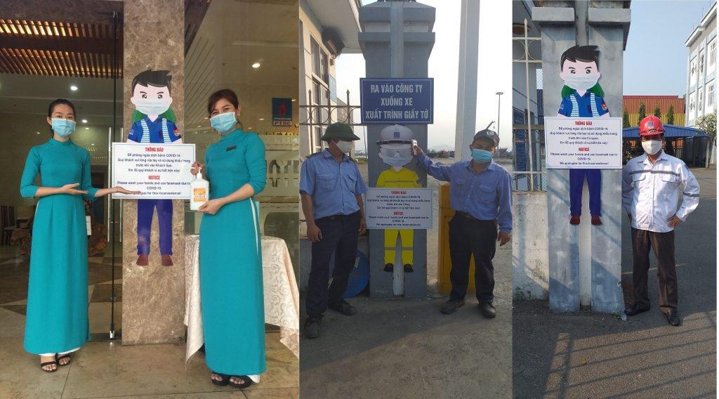 Hoạt động tuyên truyền, phòng chống dịch Covid -19 tại PTSC Đà Nẵng