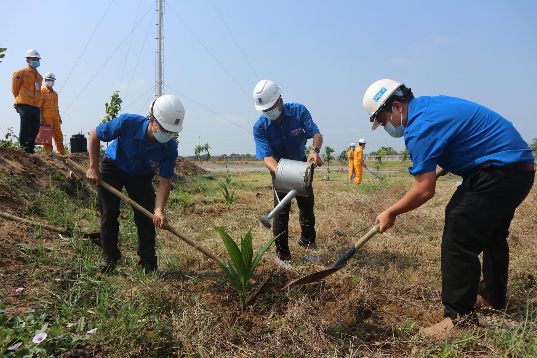 chương trình trồng cây tại Trạm Phân phối khí Bà Rịa (GDS Bà Rịa)