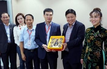Ban lãnh đạo Tập đoàn Sovico và ngân hàng HDBank đến thăm và làm việc tại PV GAS