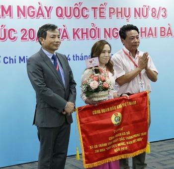 Công đoàn PV GAS chúc mừng, tôn vinh các nữ CBCNV nhân ngày 8/3