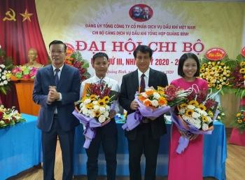 PTSC Quảng Bình tổ chức thành công Đại hội Chi bộ lần thứ III, nhiệm kỳ 2020 - 2025