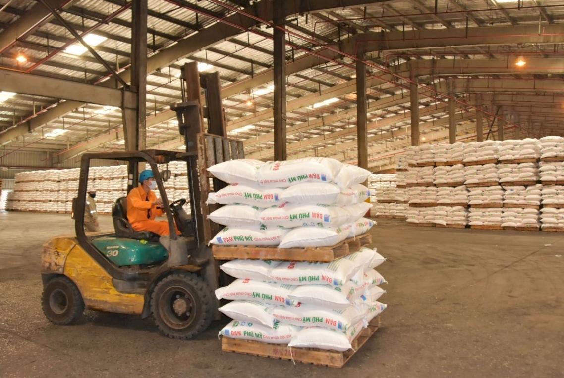 Sản xuất phân bón tại DPM