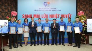 Tuổi trẻ PV GAS nhận nhiều khen thưởng về thành tích trong phong trào thanh niên