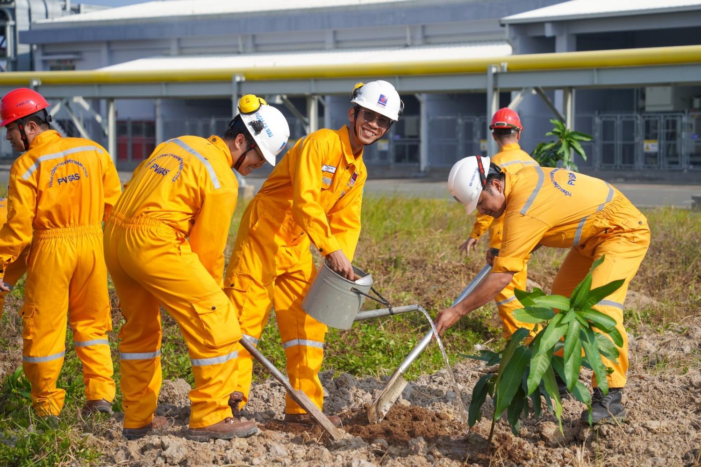 việc trồng, chăm sóc cây xanh, bảo vệ môi trường