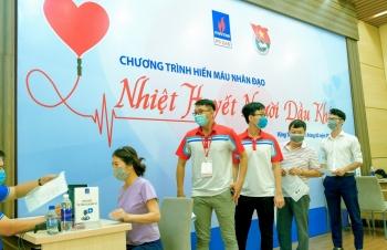 """PV GAS tổ chức chương trình hiến máu nhân đạo """"Nhiệt huyết người Dầu khí"""" tại Vũng Tàu"""