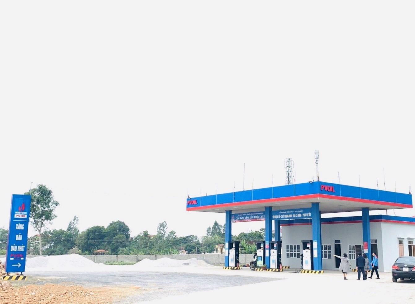 CHXD Thiệu Châu tại địa chỉ KM 10+750 phải tuyến TL502 thuộc xã Tân Châu, huyện Thiệu Hóa, tỉnh Thanh Hóa