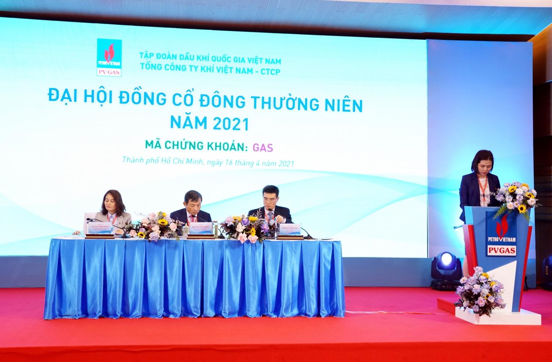 ĐHĐCĐ PV GAS 2021 đã nghe và thông qua 19 tờ trình theo quy định của Luật Doanh nghiệp, Điều lệ và Quy chế tổ chức ĐHĐCĐ thường niên