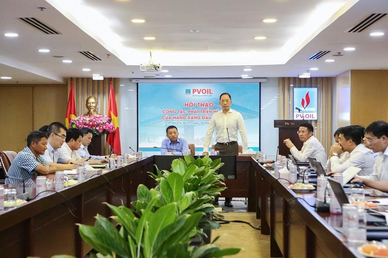 Ông Cao Hoài Dương – Chủ tịch HĐQT PVOIL phát biểu tại Hội thảo