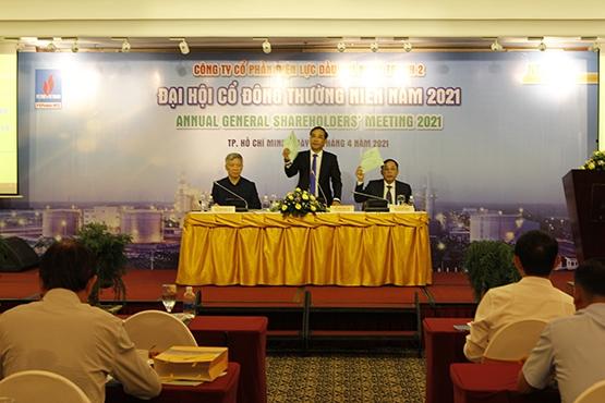 Đoàn Chủ tọa điều hành Đại hội