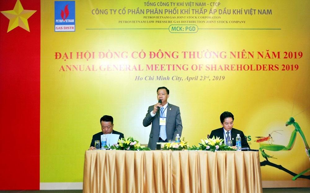 Đại hội đồng cổ đông thường niên của PVGAS D 2019