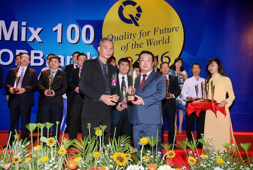 PV GAS D nhận giải thưởng Top Brand Việt Nam