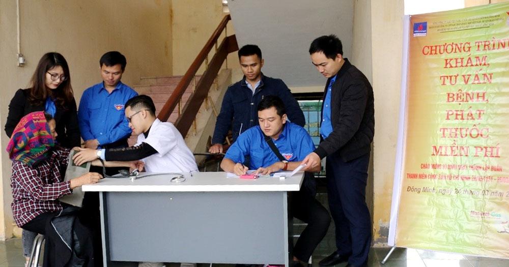 KTA phối hợp tổ chức khám chữa bệnh tại Tiền Hải, Thái Bình