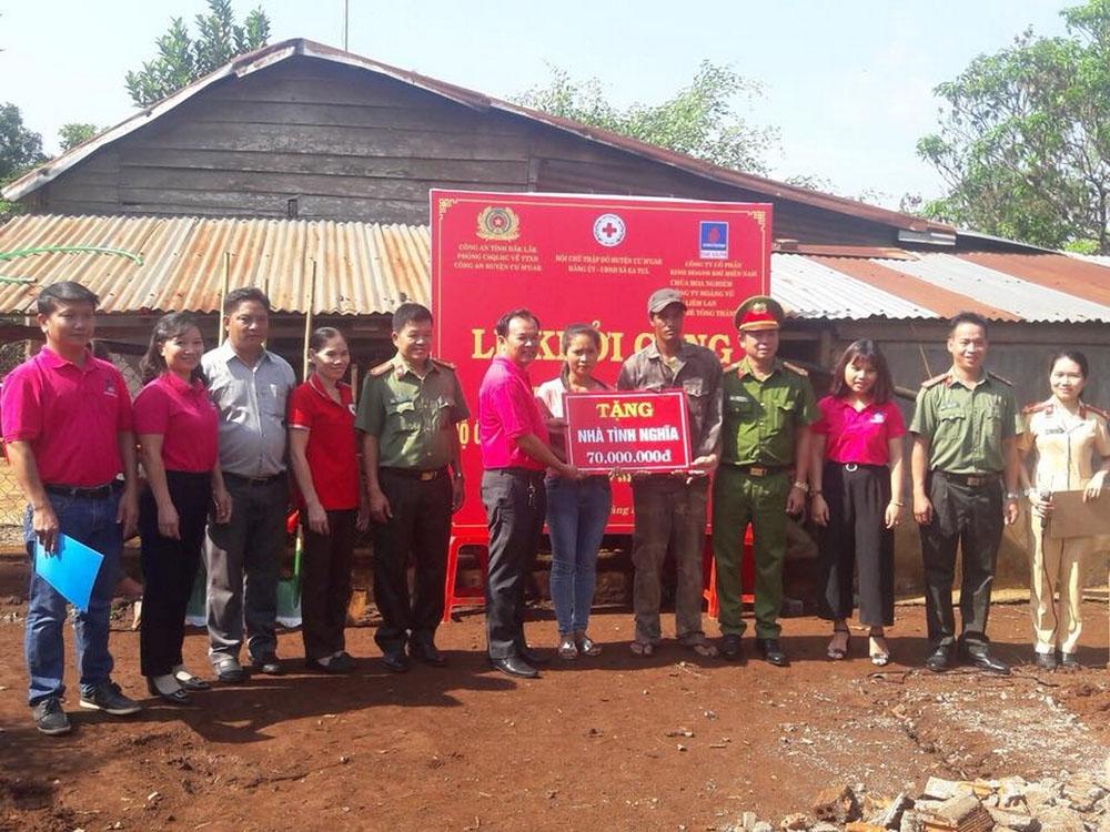 Khởi công nhà tình thương PV GAS South tại Đắk Lắk