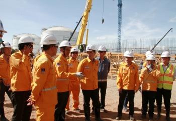 Tổng giám đốc PV GAS kiểm tra và triển khai công tác trên công trường các dự án trọng điểm