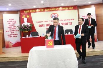 dang bo phu quoc poc to chuc thanh cong dai hoi dang bo lan ii nhiem ky 2020 2025