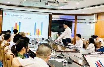 PV Power gặp gỡ các quỹ đầu tư thông tin về tình hình SXKD