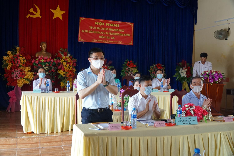 Đồng chí Lê Mạnh Hùng tham dự Hội nghị