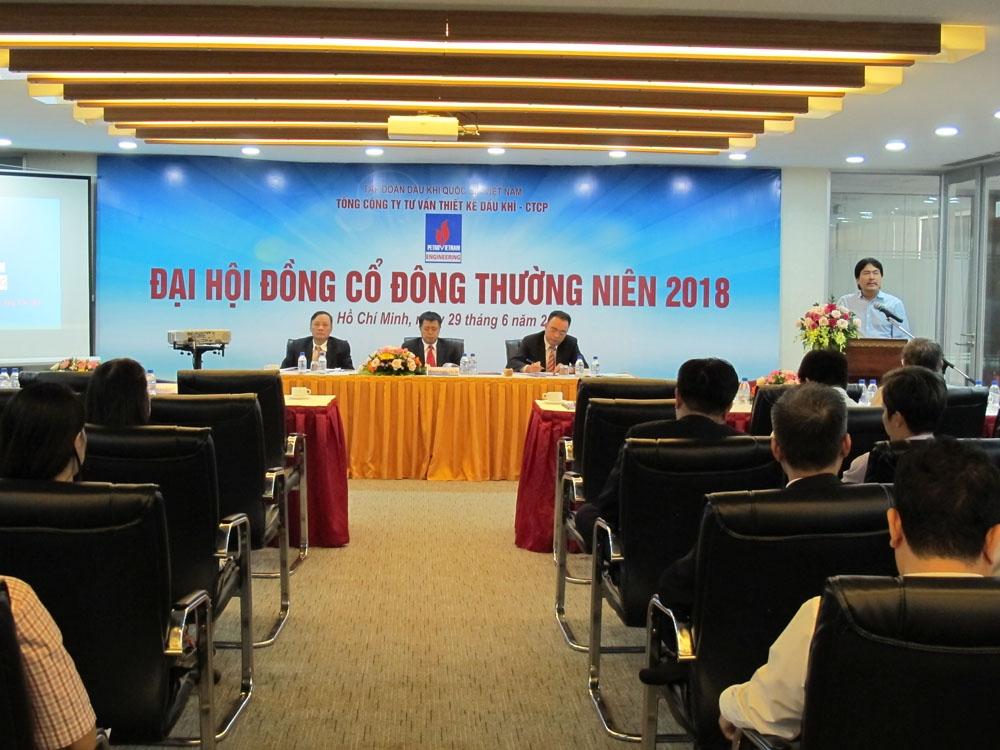 pve to chuc thanh cong dai hoi dong co dong thuong nien 2018