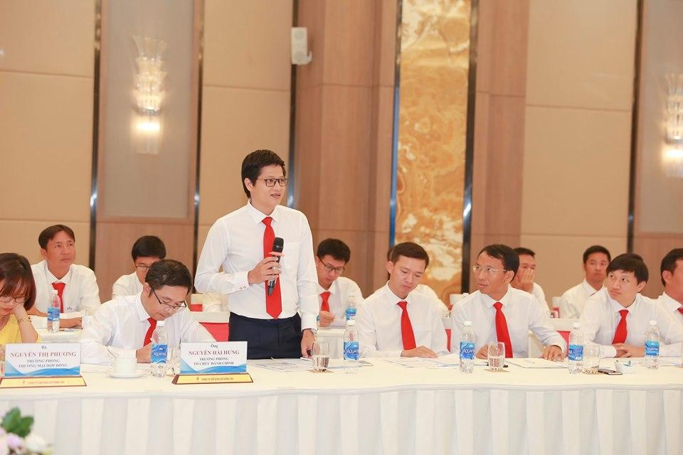 Người lao động KVT tham gia thảo luận