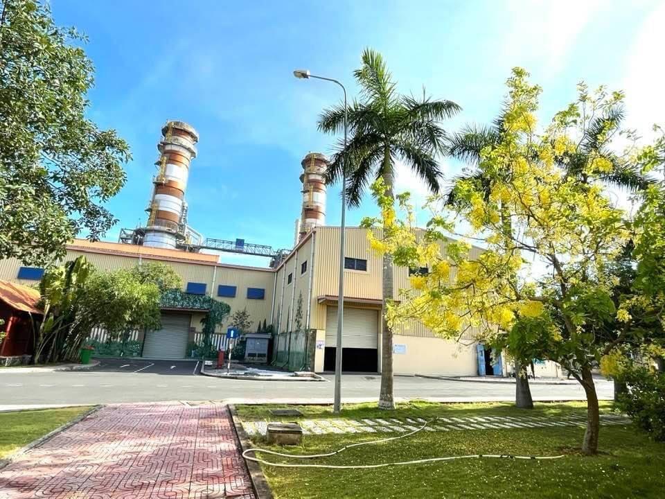 Khuôn viên Nhà máy Điện Nhơn Trạch 2