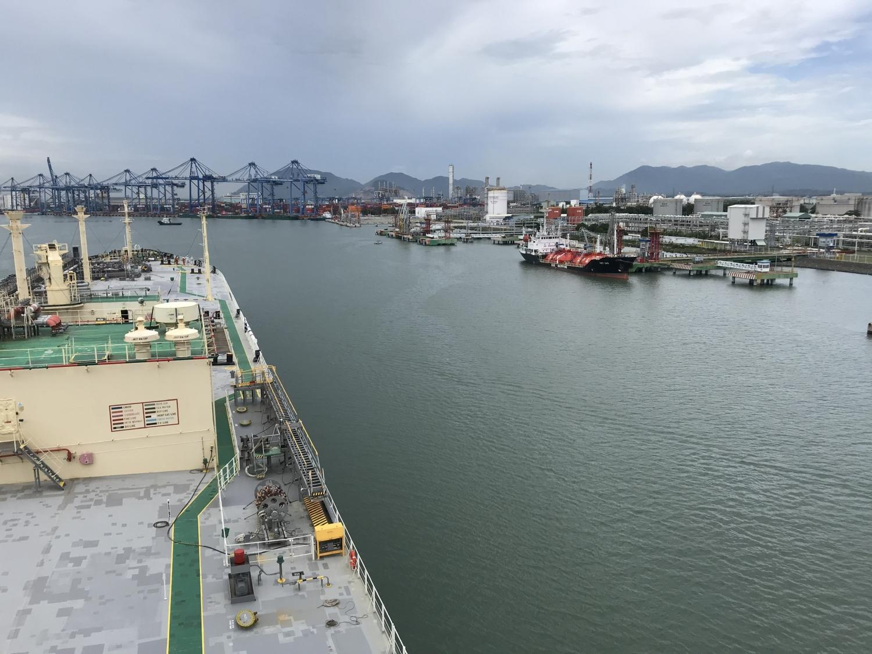 Tàu tiến vàng Cảng PV GAS Vũng Tàu
