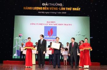 NT2 nhận vinh danh giải thưởng Năng lượng bền vững