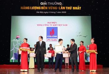 PV GAS được trao tặng Giải thưởng Năng lượng bền vững lần thứ I