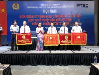 Công đoàn PTSC tổ chức Hội nghị sơ kết giữa nhiệm kỳ 2017-2022