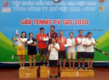Gần 100 vận động viên tham gia Giải Tennis thường niên PV GAS 2020