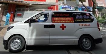 """PVOIL đồng hành cùng """"đội xe cứu thương 0 đồng"""" chống dịch Covid-19"""