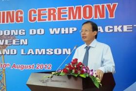 Ký kết hợp đồng công trình chân đế giàn Thăng Long – Đông Đô