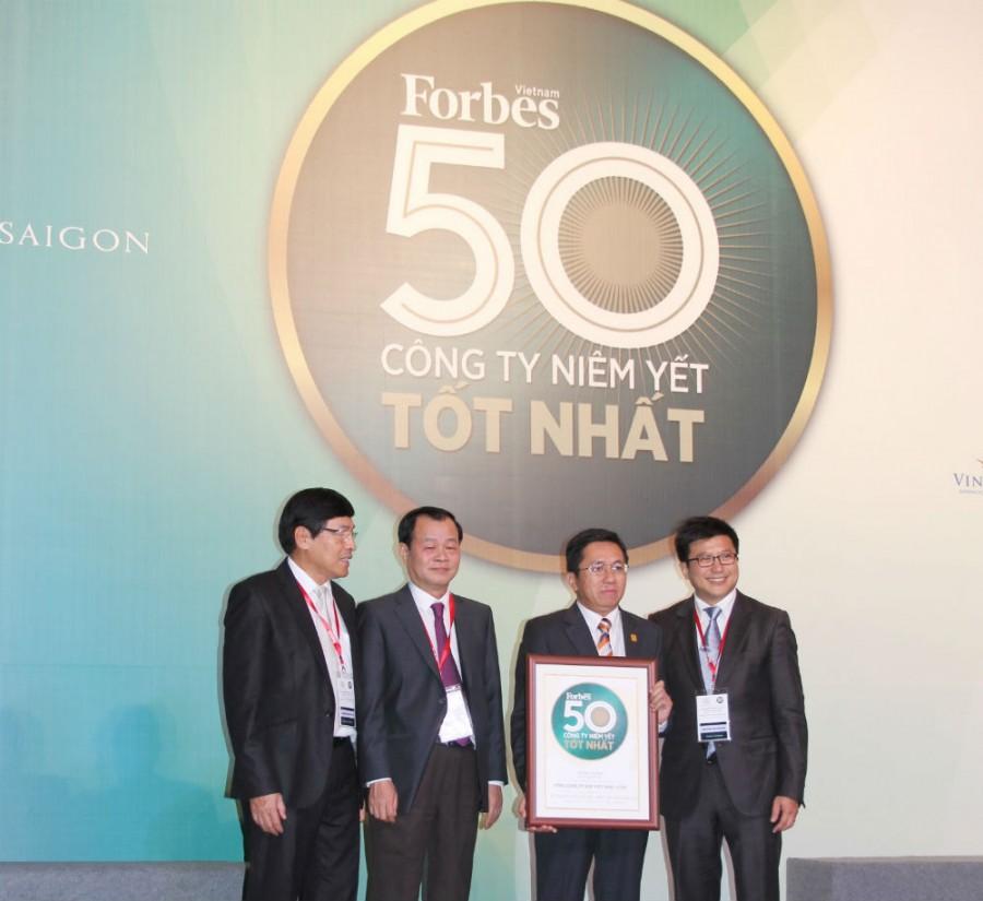 PV GAS dẫn đầu 50 doanh nghiệp niêm yết tốt nhất