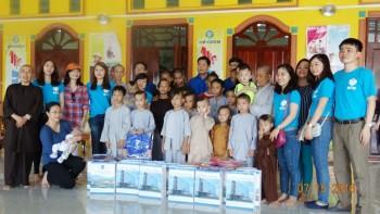PV GAS tổ chức nhiều hoạt động từ thiện hè