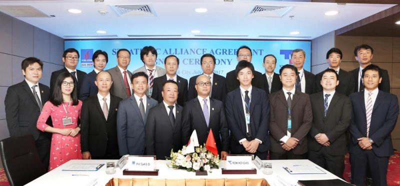 tokyo gas asia mua 249 co phan cua pv gas d