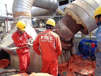 PTSC Quảng Ngãi tham gia đợt bảo dưỡng tổng thể lần 4 tại Nhà máy lọc dầu Dung Quất