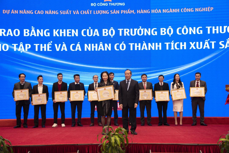 PV GAS nhận khen thưởng về phong trào sáng kiến sáng tạo của Bộ Công Thương