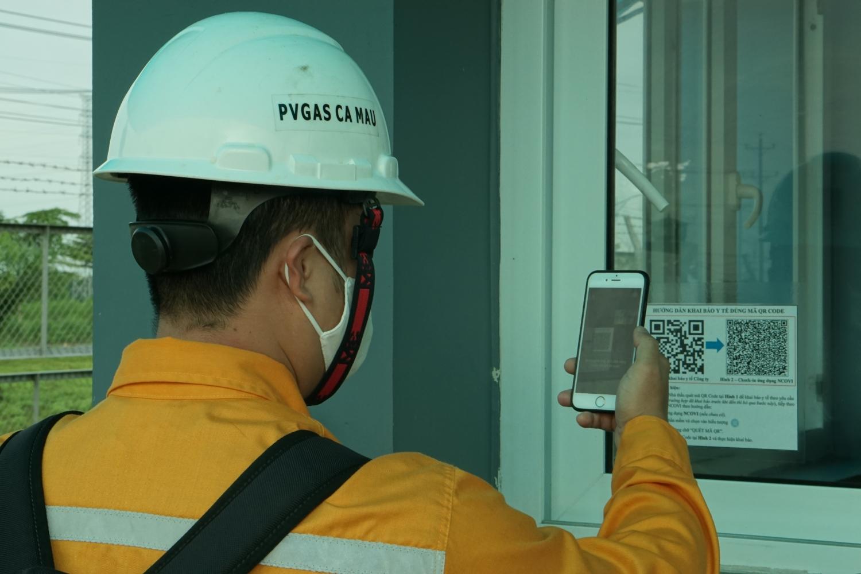Thực hiện khai báo y tế là nhiệm vụ hàng ngày được PV GAS yêu cầu CBCNV tuân thủ nghiêm túc