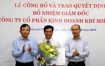 Ông Trần Văn Nghị được bổ nhiệm làm Giám đốc PV GAS South