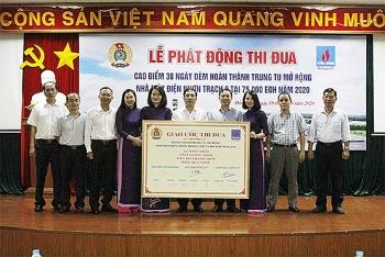 NT2: Phát động và Ký giao ước thi đua Trung tu mở rộng Nhà máy điện Nhơn Trạch 2 năm 2020