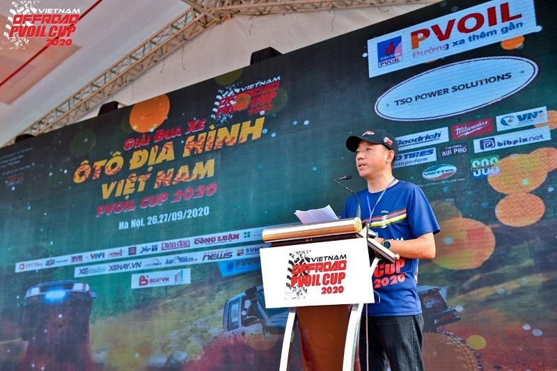 giai dua xe o to dia hinh lon nhat viet nam pvoil cup 2020 chinh thuc khai mac