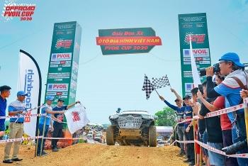 Giải đua xe ô tô địa hình lớn nhất Việt Nam PVOIL Cup 2020 chính thức khai mạc