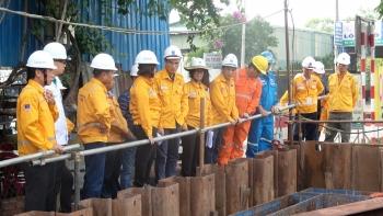 Tổng giám đốc PV GAS kiểm tra thực địa tại công trường Dự án Nam Côn Sơn 2 – Giai đoạn 2
