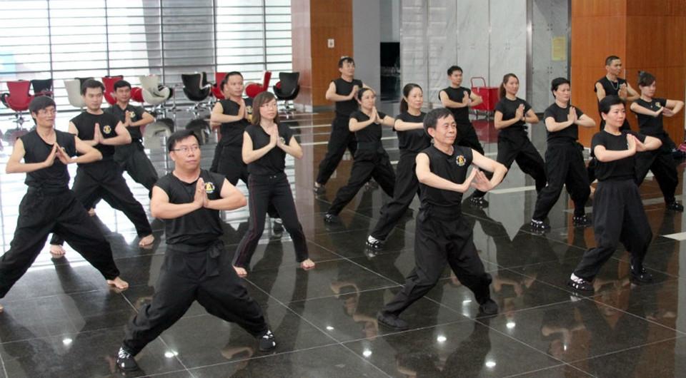 Câu lạc bộ dưỡng sinh PV GAS – Nam Huỳnh Đạo duy trì luyện tập tại tòa nhà PV GAS trong 8 năm qua