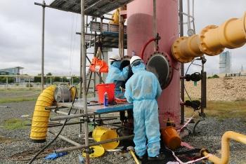 Công ty Vận chuyển Khí Đông Nam Bộ hoàn thành vượt tiến độ bảo dưỡng sửa chữa 2021