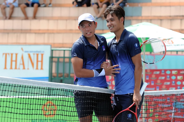 Hoàng Nam và Linh Giang - 2 gương mặt nổi bật trong đội hình của Việt Nam tại Davis Cup 2021